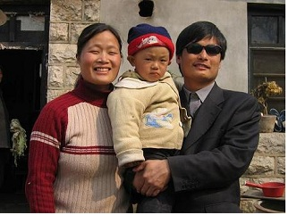 CHINA_-_Chen_guangcheng_and_family